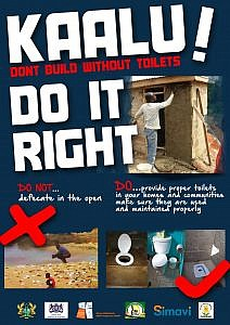 KAALU POSTER_Do it right_blue