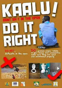 KAALU POSTER_Do it right_brown