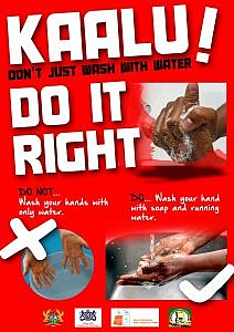 KAALU POSTER_Do it right_red